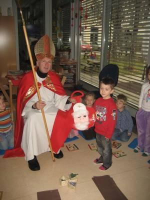 Der Nikolaus hat uns heuer etwas ganz besonderes mitgebracht.